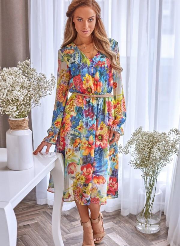 Sukienka Anabel kwiaty