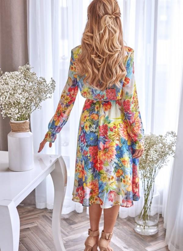 Sukienka Anabel kwiaty 1