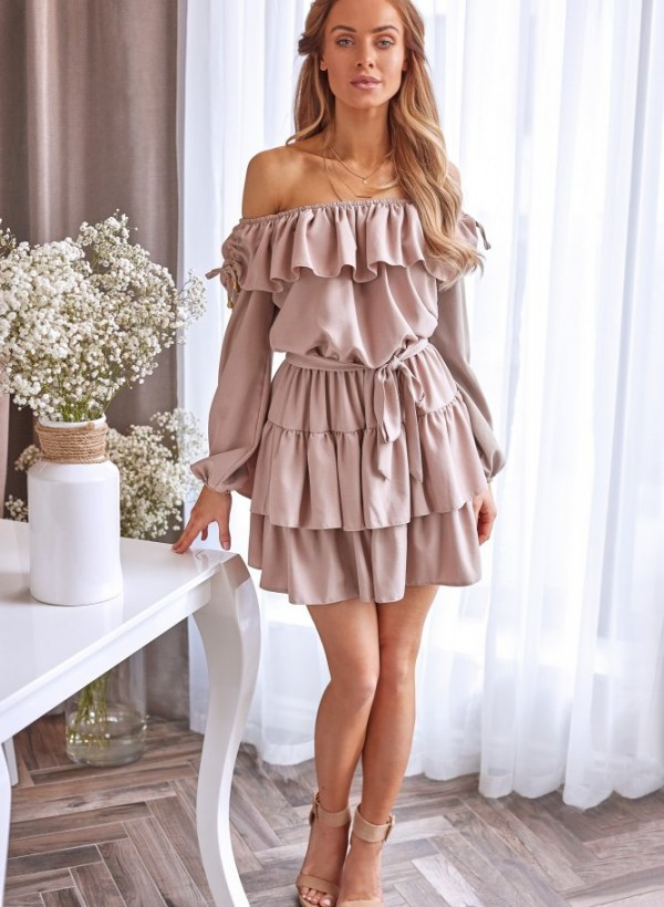 Sukienka Olivia beż