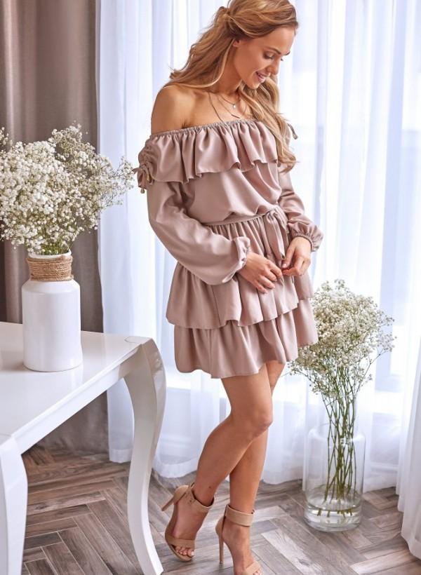 Sukienka Olivia beż 1