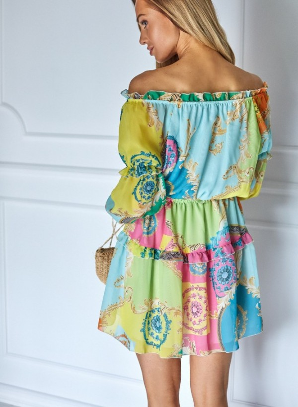 Sukienka Riri neon 2