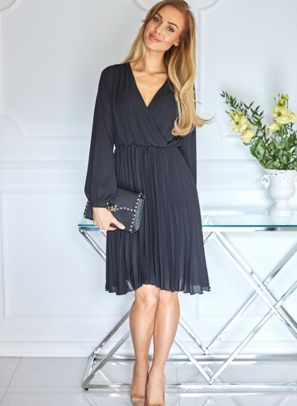 Sukienka Roma Midi czarna