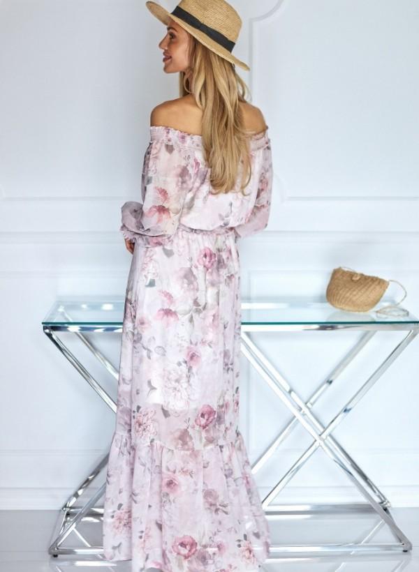 Sukienka Laurel kwiaty róż 1