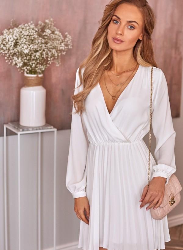 Sukienka Roma Midi biała