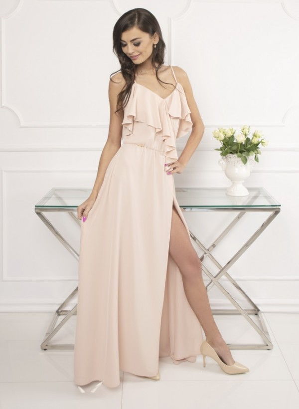 Sukienka Mia beż