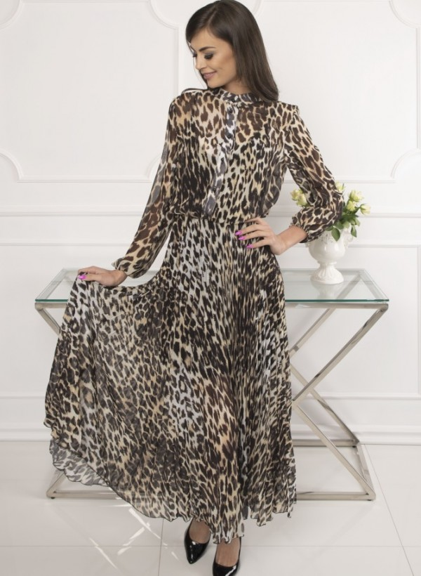 Sukienka Maxi Panterka 3