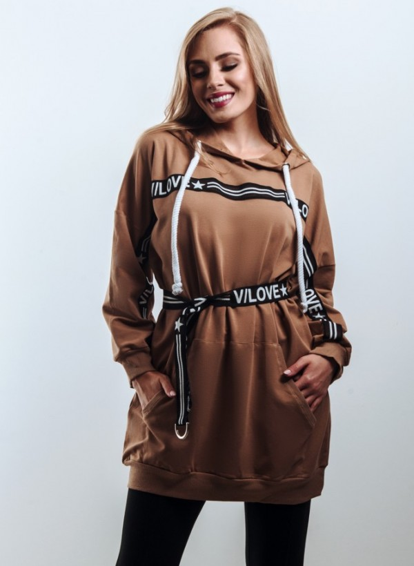 Bluza Long Beige