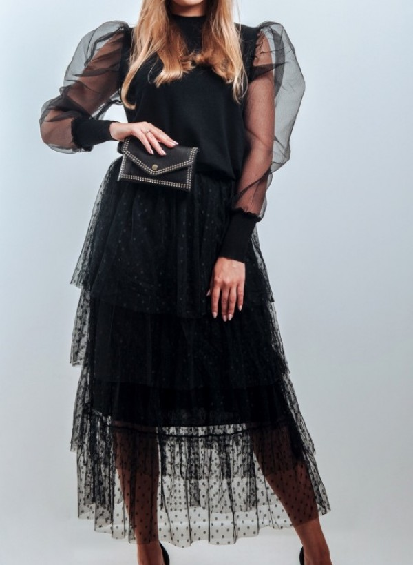 Spódnica Tiul czerń