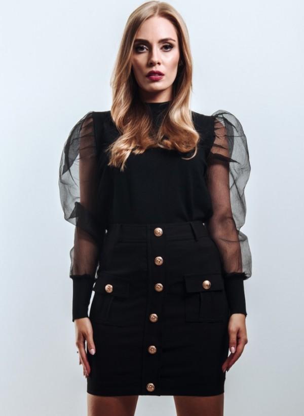 Spódnica Paris Mini Czarna