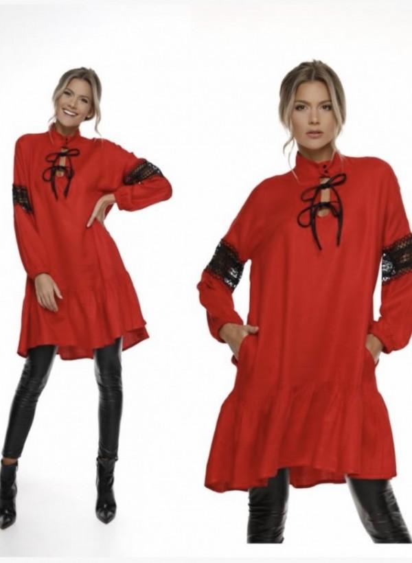 Sukienka Debory red