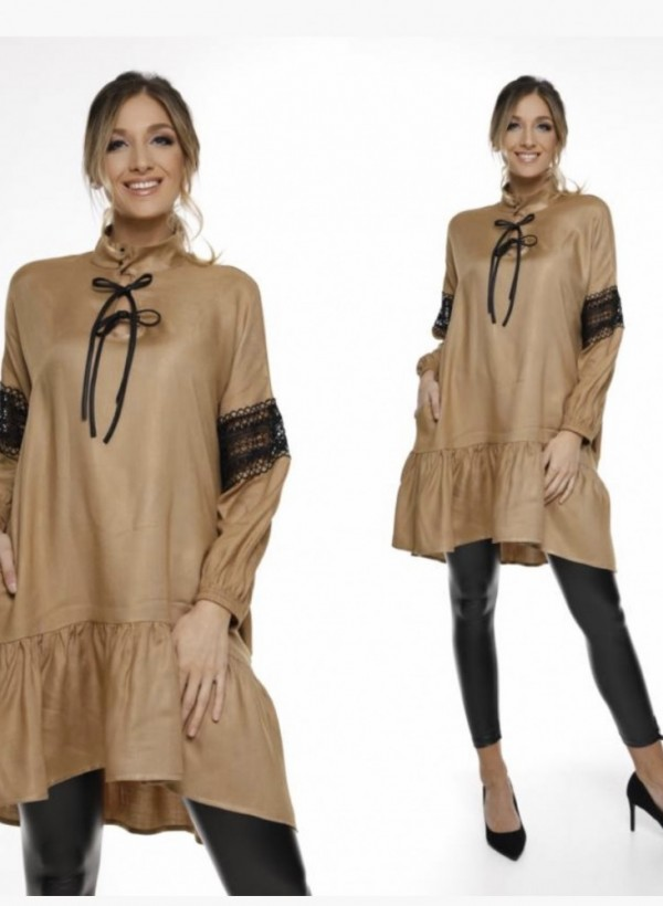 Sukienka Debory beige