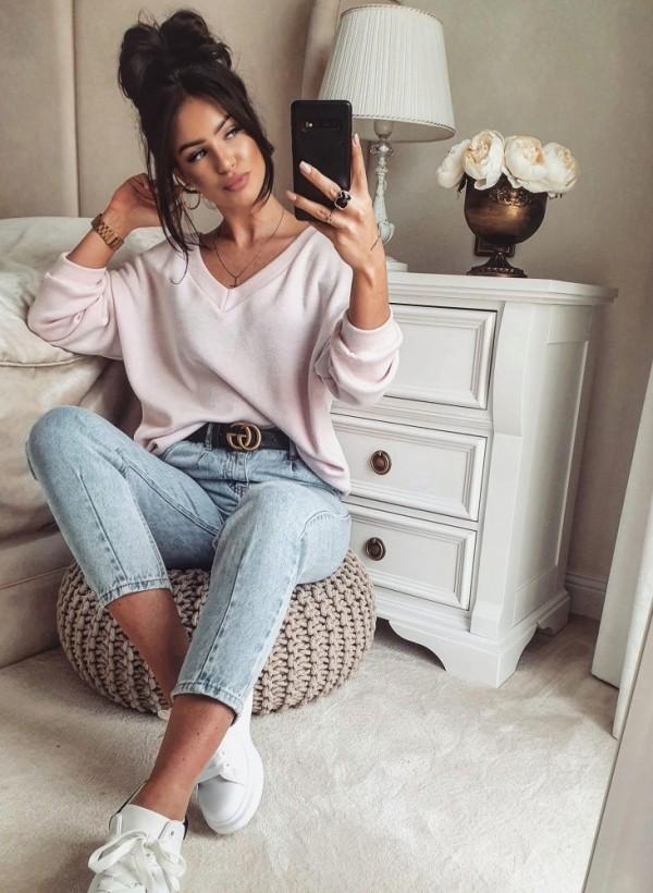Bluza sweterkowa PINK